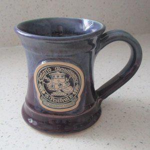 Ontario Renaissance Festival Mug Blue & Purple